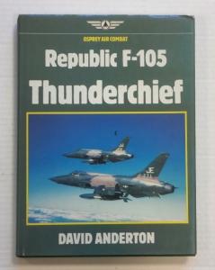 CHEAP BOOKS  ZB740 REPUBLIC F-105 THUNDERCHIEF
