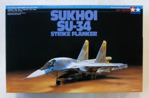TAMIYA 1/72 60743 SUKHOI Su-34 STRIKE FLANKER