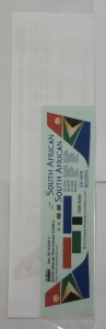 0 1/200 1372. DRAW DECAL 203201 SOUTH AFRICAN NEW COLORS A320s