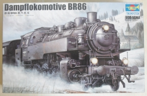 TRUMPETER 1/35 00217 BR86 DAMPFLOKOMOTIVE  UK SALE ONLY