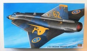 HASEGAWA 1/72 BP3 J-35J DRAKEN