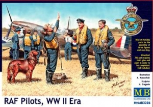 MASTERBOX 1/32 3206 RAF PILOTS WWII ERA