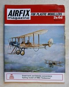AIRFIX  AIRFIX MAGAZINE 1969 DECEMBER