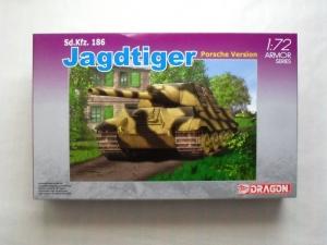 DRAGON 1/72 7250 Sd.Kfz.186 JAGDTIGER PORSCHE VERSION