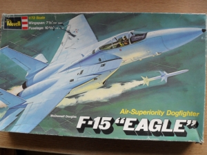 REVELL 1/72 H257 McDONNELL DOUGLAS F-15 EAGLE