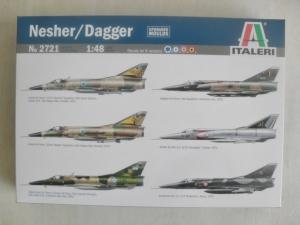 ITALERI 1/48 2721 NESHER DAGGER