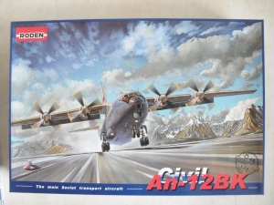RODEN 1/72 048 ANTONOV An-12BK CIVIL