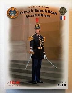 ICM 1/16 16004 FRENCH REPUBLICAN GUARD OFFICER