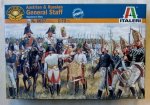 ITALERI 1/72 6037 AUSTRIAN/RUSSIAN GENERAL STAFF