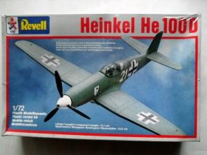 REVELL 1/72 4142 HEINKEL He 100D