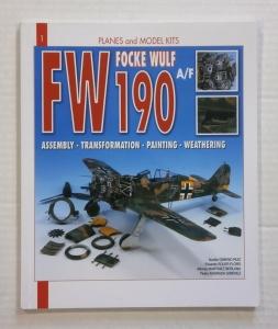 CHEAP BOOKS  ZB800 PLANES AND MODEL KITS No 1 FOCKE WULF FW 190 A/F