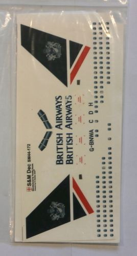 S M MODELS 1/144 1491. 44172 BRITISH AIRWAYS 767-300