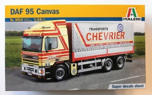 ITALERI 1/24 3914 DAF 95 CANVAS