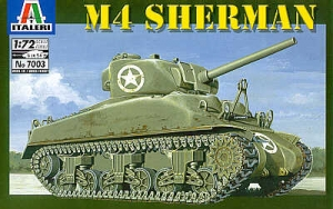 ITALERI 1/72 7003 M4 SHERMAN
