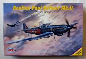 MPM 1/72 72519 BOULTON PAUL DEFIANT Mk.II RADAR VERSION