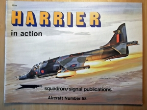 SQUADRON/SIGNAL AIRCRAFT IN ACTION  1058. HARRIER