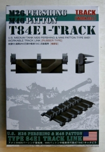 AFV CLUB 1/35 35037 US TYPE 84E1 TRACK LINK  RUBBER TYPE  FOR M26 PERSHING M46 PATTON