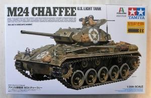 TAMIYA 1/35 37020 M24 CHAFFEE US LIGHT TANK