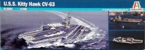 ITALERI 1/720 5522 USS KITTYHAWK CV-63