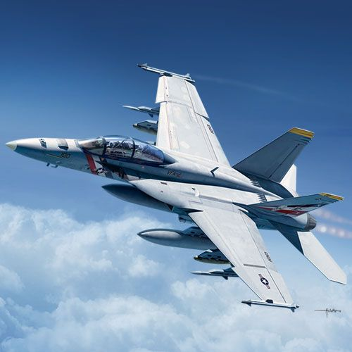 ACADEMY 1/72 12567 USN F/A-18F VFA-2 BOUNTY HUNTERS
