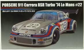 FUJIMI 1/24 126487 PORSCHE 911 CARRERA RSR TURBO 1974 LE MANS  22