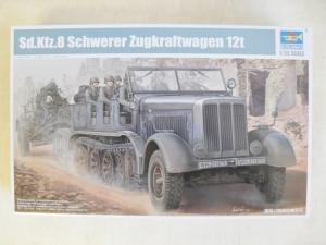 TRUMPETER 1/35 01583 Sd.Kfz 8 SCHWERER ZUGKRAFTWAGEN 12t