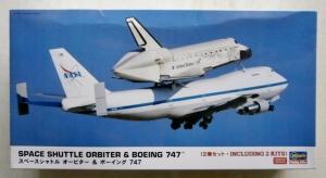 HASEGAWA 1/200 10680 SPACE SHUTTLE ORBITER   BOEING 747