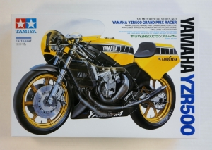 TAMIYA 1/12 14001 YAMAHA YZR500 GRAND PRIX RACER