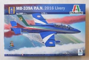 ITALERI 1/72 1380 MB-339A P.A.N. 2016 LIVERY
