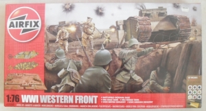 AIRFIX 1/76 50060 WWI WESTERN FRONT  UK SALE ONLY