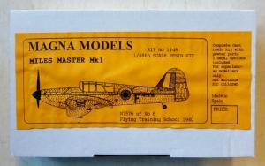 MAGNA 1/48 1248 MILES MASTER Mk.I