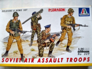 ITALERI 1/35 339 SOVIET AIR ASSAULT TROOPS