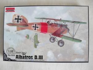 RODEN 1/32 606 ALBATROS D.III