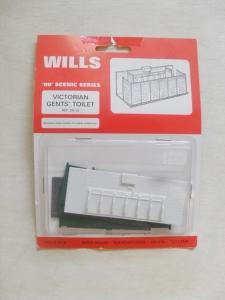 WILLS OO SS 10 VICTORIAN GENTS TOILET