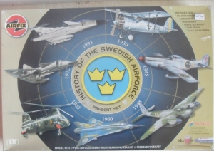 AIRFIX 1/72 08669 HISTORY OF THE SWEDISH AIR FORCE