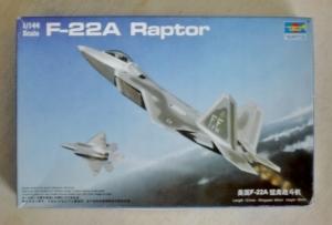 TRUMPETER 1/144 01317 F-22A RAPTOR