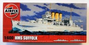 AIRFIX 1/600 03203 HMS SUFFOLK