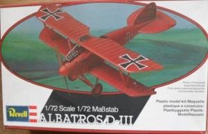 REVELL 1/72 4110 ALBATROS D.III
