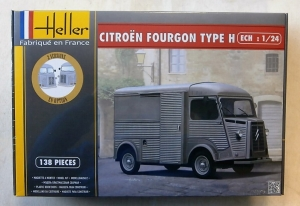 HELLER 1/24 80768 CITROEN FOURGON TYPE H