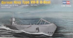 HOBBYBOSS 1/350 83504 GERMAN NAVY TYPE VIIB U-BOAT
