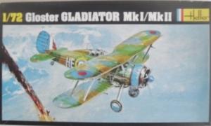 HELLER 1/72 270 GLOSTER GLADIATOR Mk.I/Mk.II