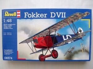 REVELL 1/48 04574 FOKKER DVII