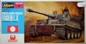 HASEGAWA 1/72 MT08 TIGER I Ausf.E