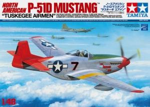 TAMIYA 1/48 25147 P-51D MUSTANG TUSKEGEE AIRMEN