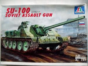 ITALERI 1/35 289 SU-100 SOVIET ASSAULT GUN