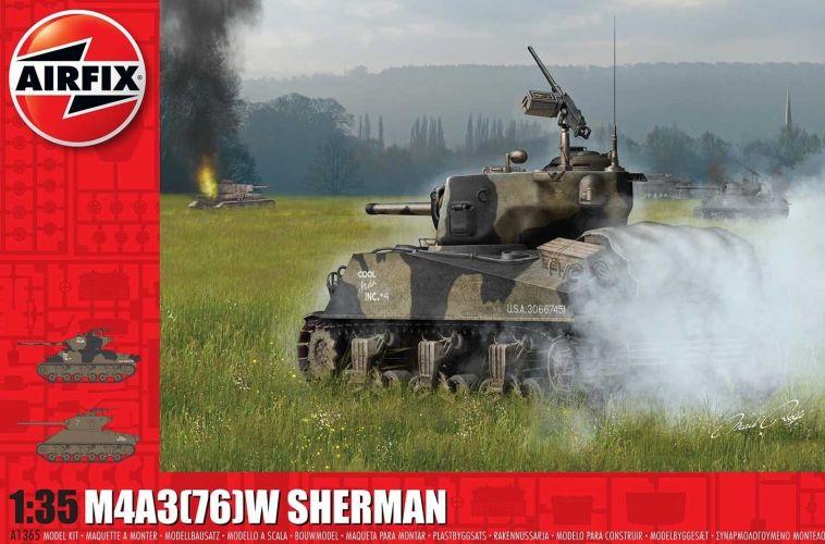 AIRFIX 1/35 1365 M4A3 76 W SHERMAN