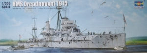 TRUMPETER 1/350 05329 HMS DREADNOUGHT 1915