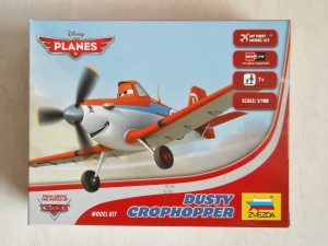 ZVEZDA 1/100 2061 DUSTY CROPHOPPER SNAP-FIT - DISNEY PLANES