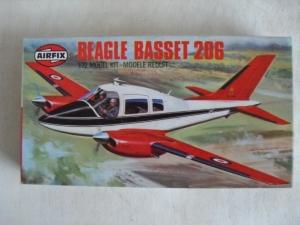 AIRFIX 1/72 02025 BEAGLE BASSET 206 QUEENS FLIGHT