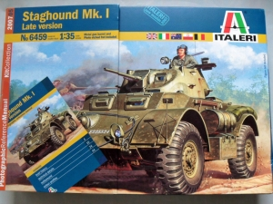 ITALERI 1/35 6459 STAGHOUND Mk.I LATE